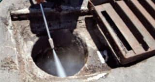 limpieza con agua a presion hospitalet